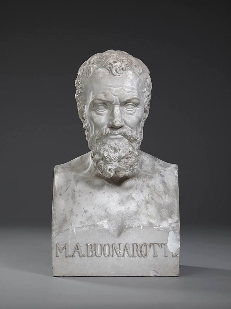 Der Bildhauer, Maler und Architekt Michelangelo Buonarroti (1475 -  1564)