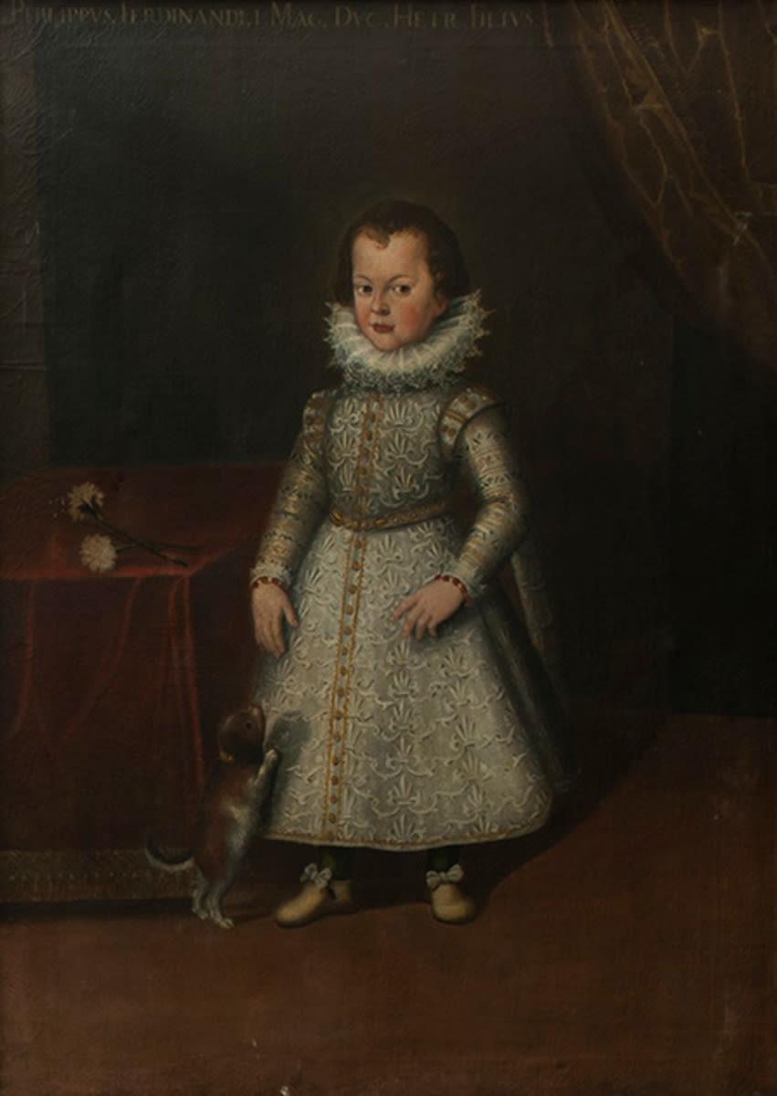 Kinderbildnis des Philipp, Sohn des Großherzogs Ferdinand I. von Toskana