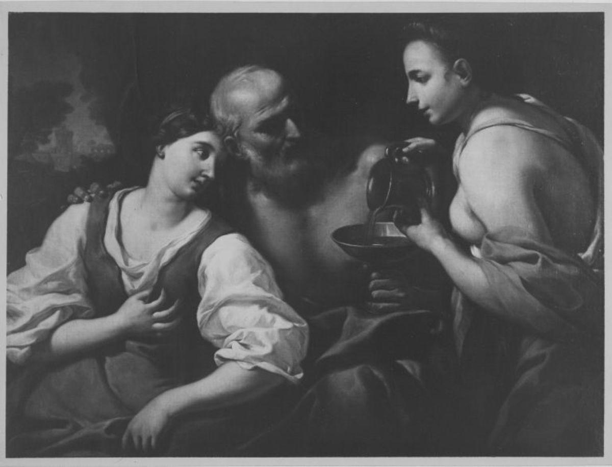 Lot und seine Töchter