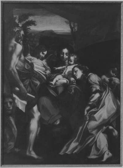 Madonna del S. Gerolamo (Maria mit Kind, hll. Maria Magdalena, Hieronymus und Engeln)