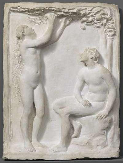 Modell für Adam und Eva