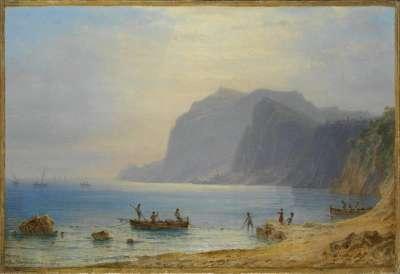 Küste von Capri