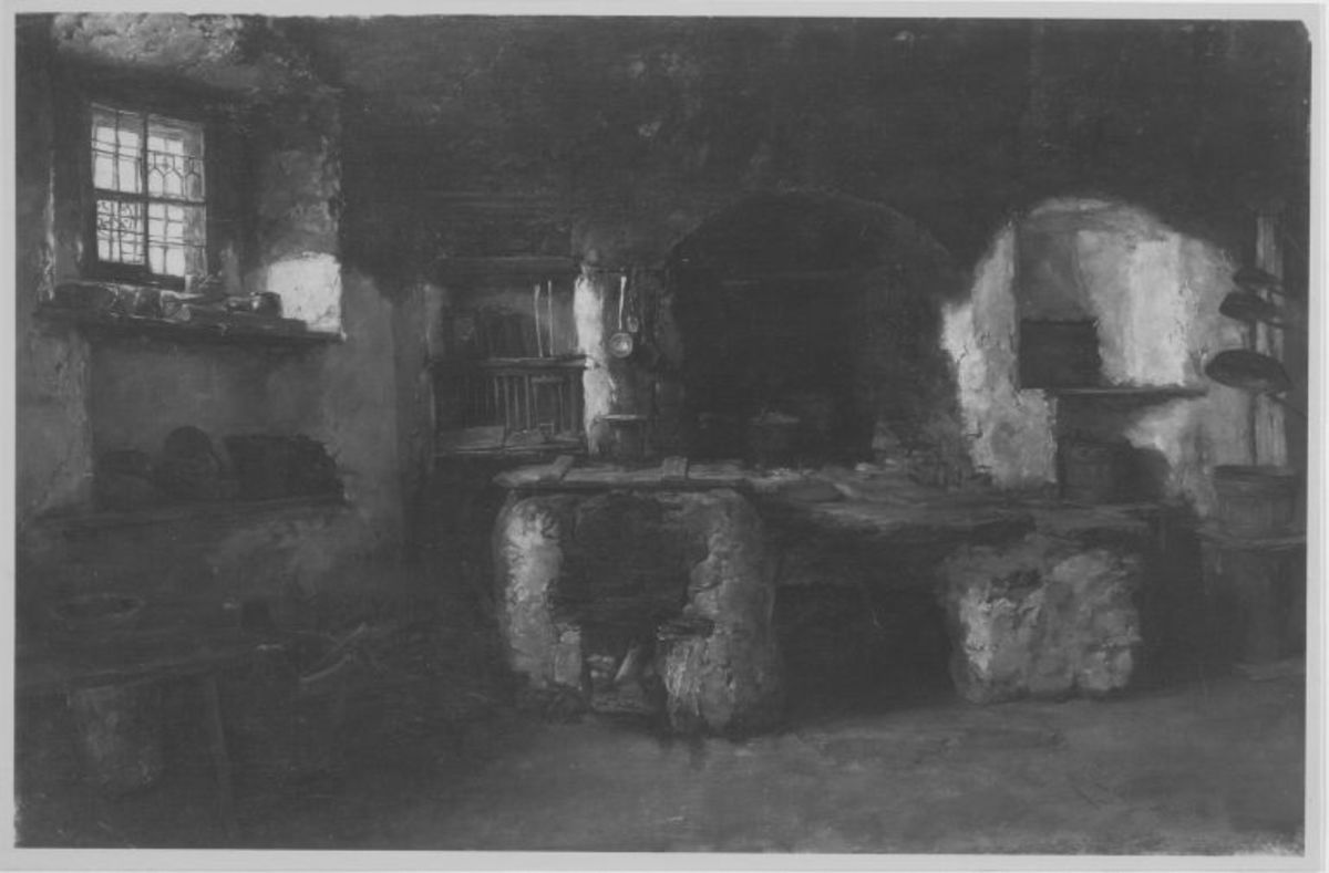 Kücheninneres in Ladis