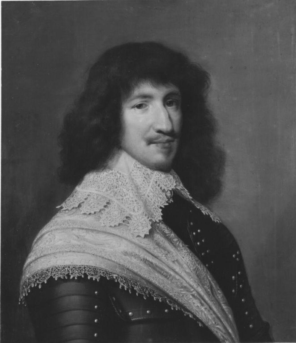 Bildnis des Adrien de Montesquiou-Montluc, Graf von Carmain, Prinz von Chabanais (1571-1646)