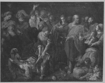 Tod des Ananias