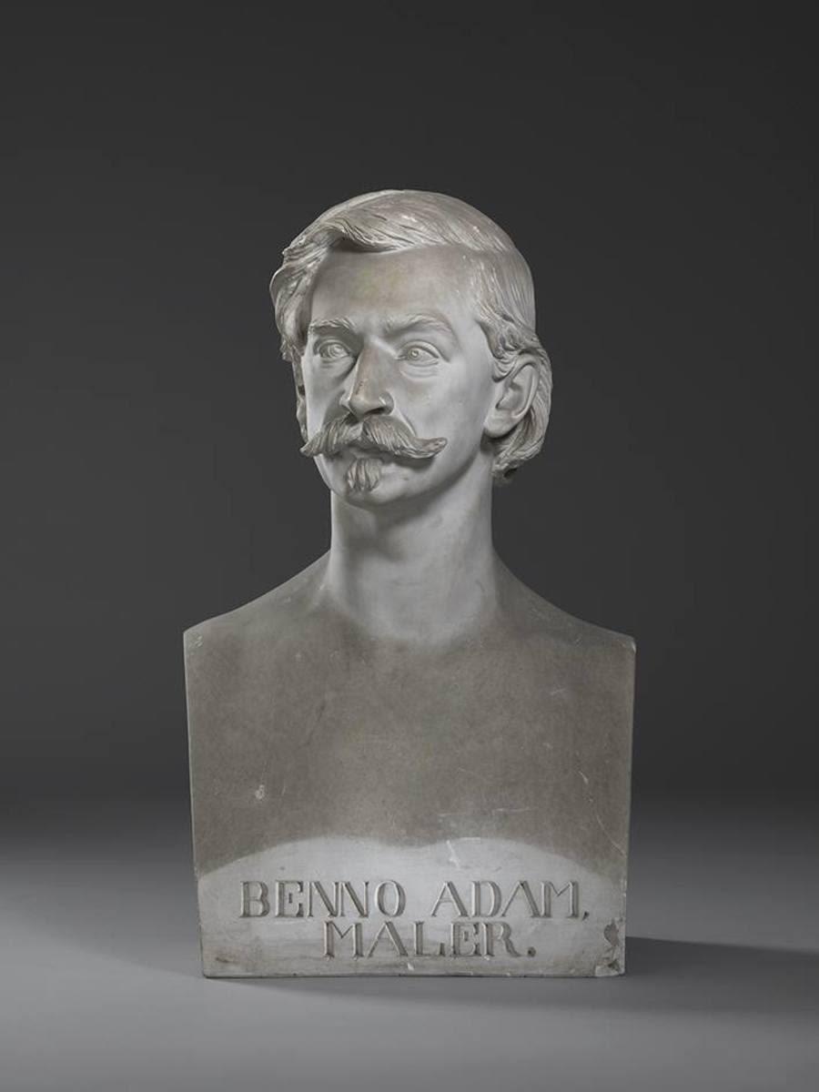 Der Tiermaler Benno Adam (1812 - 1892)