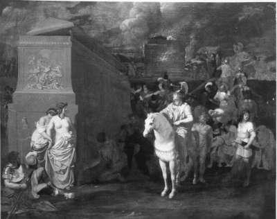 Bestattung des Hephaistos
