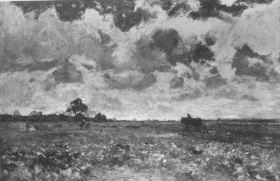 Holländische Landschaft (In den Feldern)