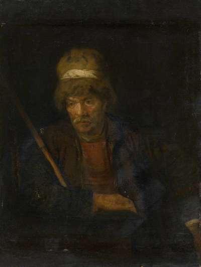 Bildnisstudie eines Mannes