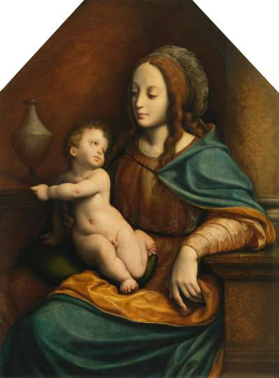 Maria mit Kind (Pommersfeldener Madonna)