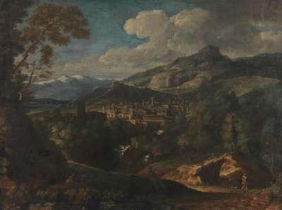 Italienische Gebirgslandschaft