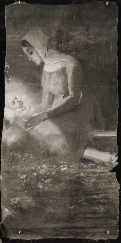Maria mit dem Jesuskind (Fragment)