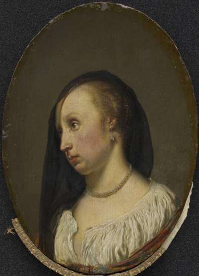 Bildnis der Frau des Künstlers, Cunera van der Cock