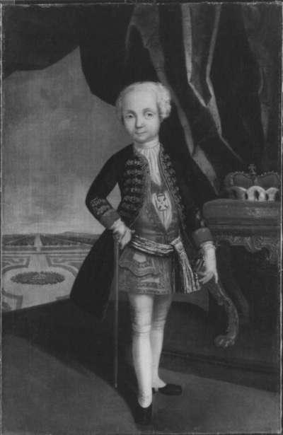 Kinderbildnis des Erbprinzen Karl Friedrich August von Brandenburg-Ansbach (1734-1737)
