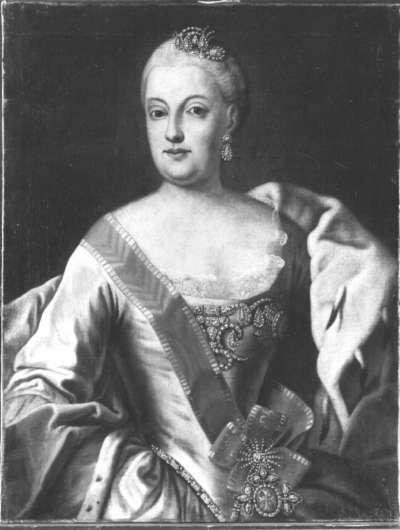 Bildnis der Maria Anna, Gemahlin des Kurfürsten Maximilian III. Joseph von Bayern
