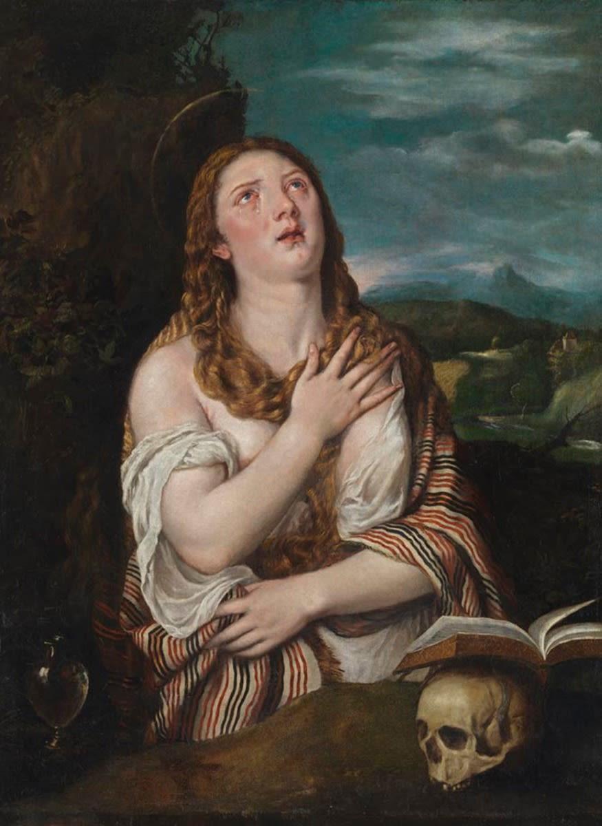 Hl. Magdalena als Büßerin