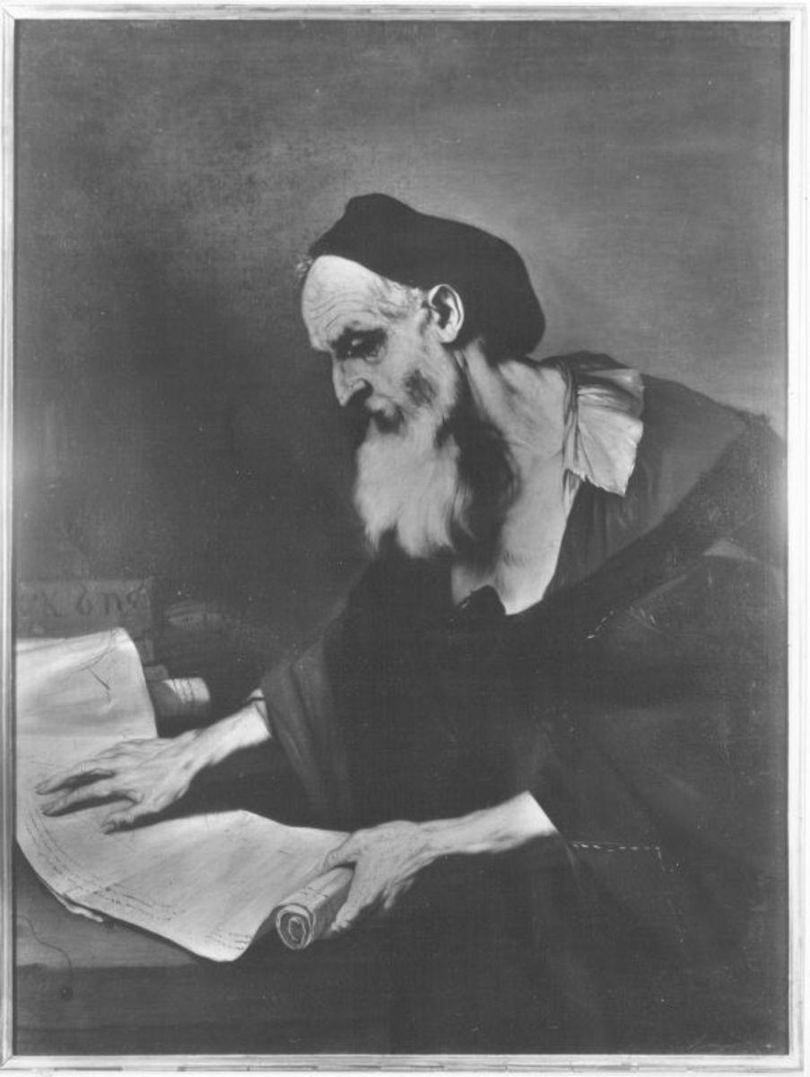 Ein alter Gelehrter