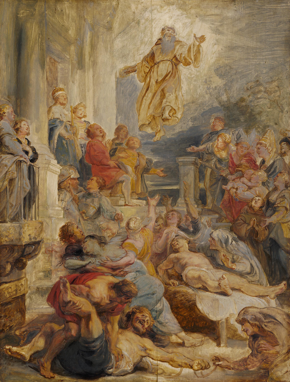 Das Wunder des hl. Franz von Paula