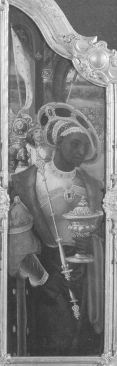 Triptychon: Der sogenannte Mohrenkönig