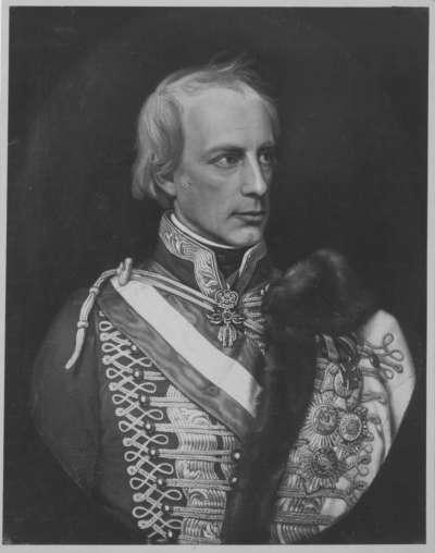 Kaiser Franz I. von Österreich in Husarenuniform