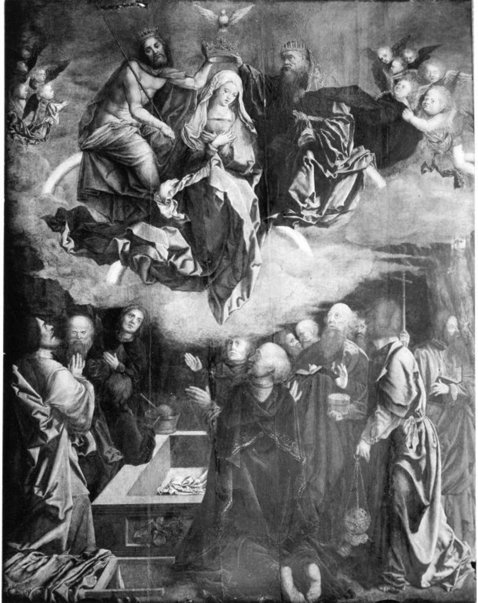 Himmelfahrt Mariae (nach Dürers Holzschnitt aus dem Marienleben B. 94)