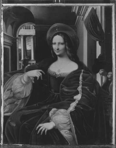 Giovanna d'Aragona (nach einem Gemälde der Raffael-Schule)