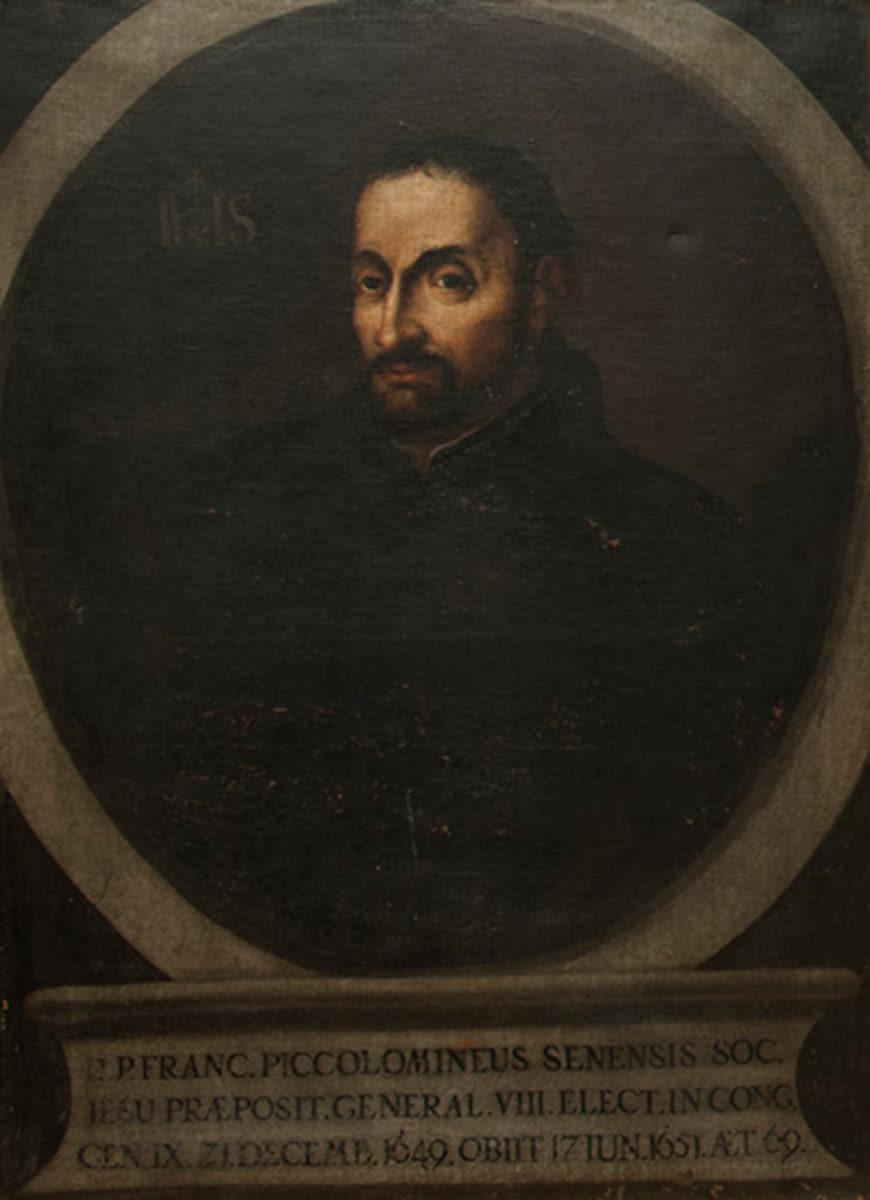 Friesischer Jesuit Franc Piccolomineus
