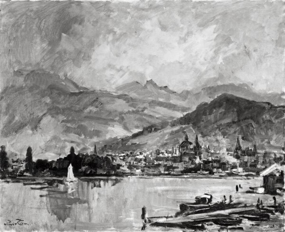 Ansicht von Luzern
