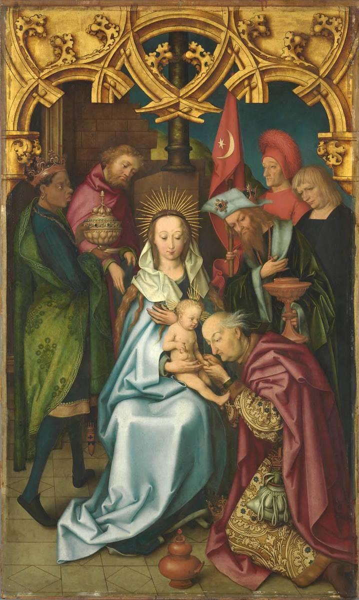 Kaisheimer Altar: Anbetung der Könige