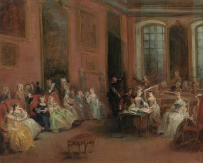 Konzert im Salon