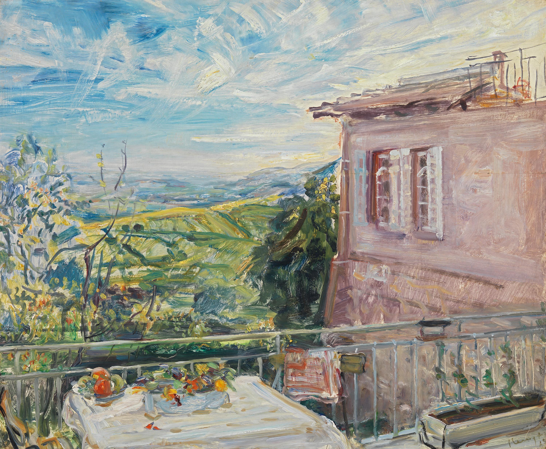 Terrasse in Neukastel
