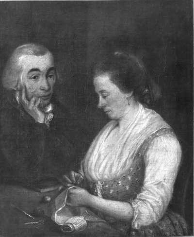 Doppelbildnis eines Ehepaares