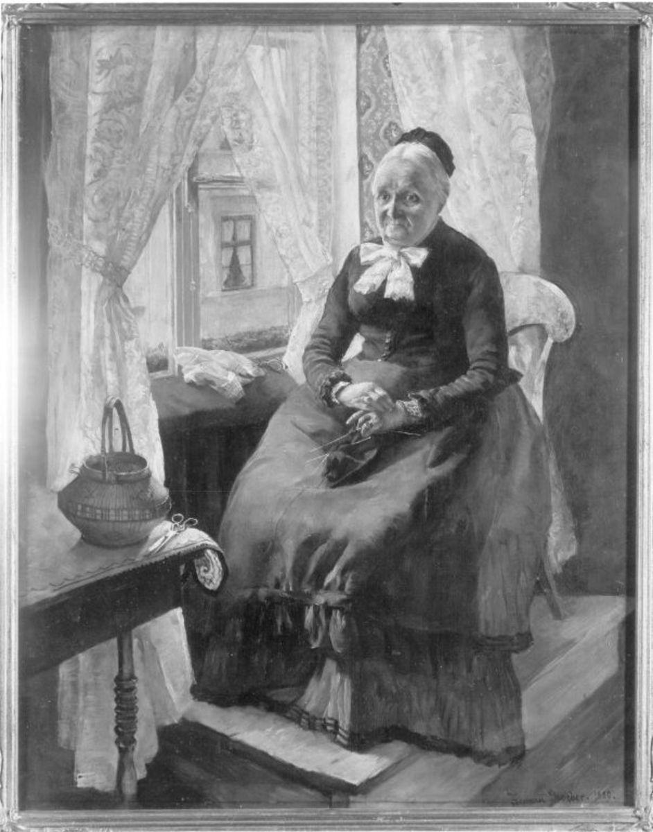 Bildnis der Großmutter Groeber