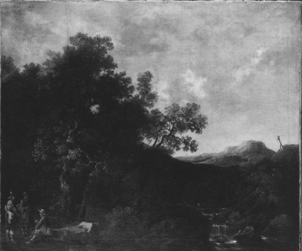 Waldige Landschaft