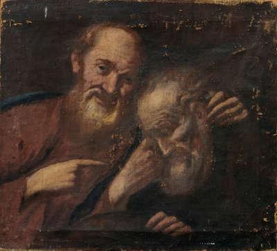 Heraklit und Demokrit