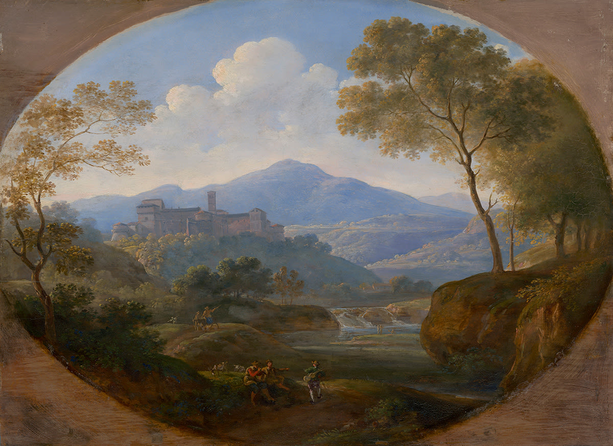 Grottaferrata bei Rom