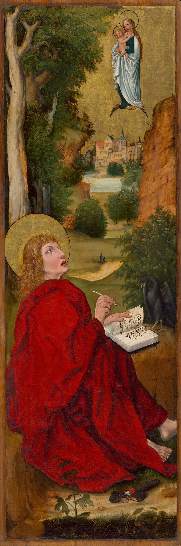 """""""Aschaffenburger Triptychon"""": Johannes auf Patmos"""