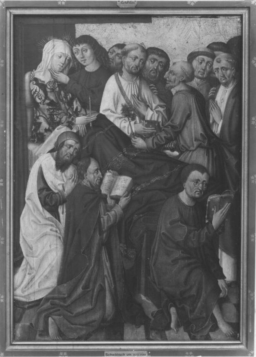 Marienaltar: Der Tod Mariä