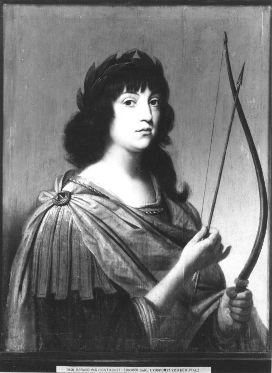 Bildnis des Kronprinzen Karl Ludwig von der Pfalz als Apoll (1617-1680)