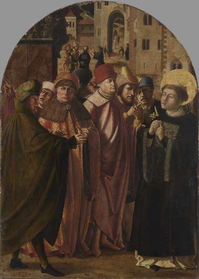 Jakobus-Stephanus-Altar: Disputation des hl. Stephanus