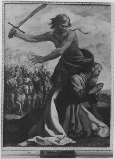 Enthauptung des Apostel Paulus