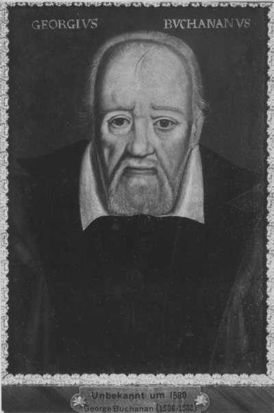 Bildnis des schottischen Staatsmannes, Dichters und Geschichtsschreibers George Buchanan