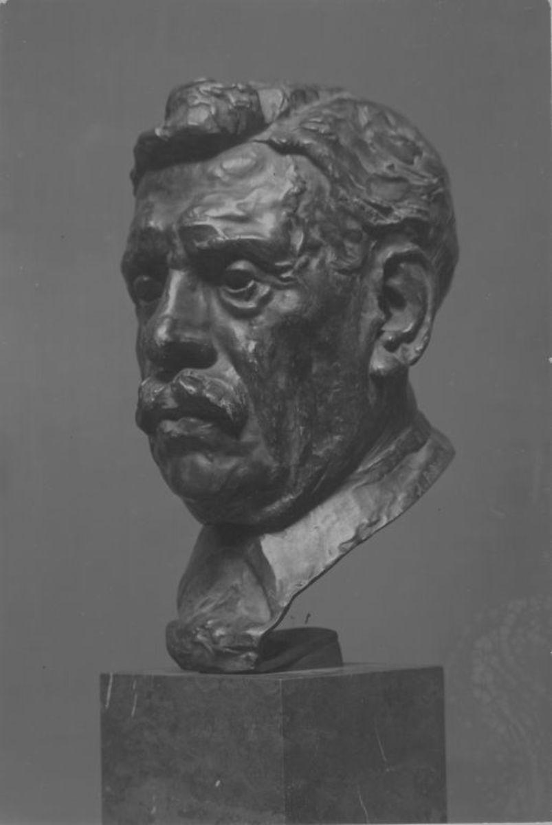 Der Bildhauer Alexandre Falguière