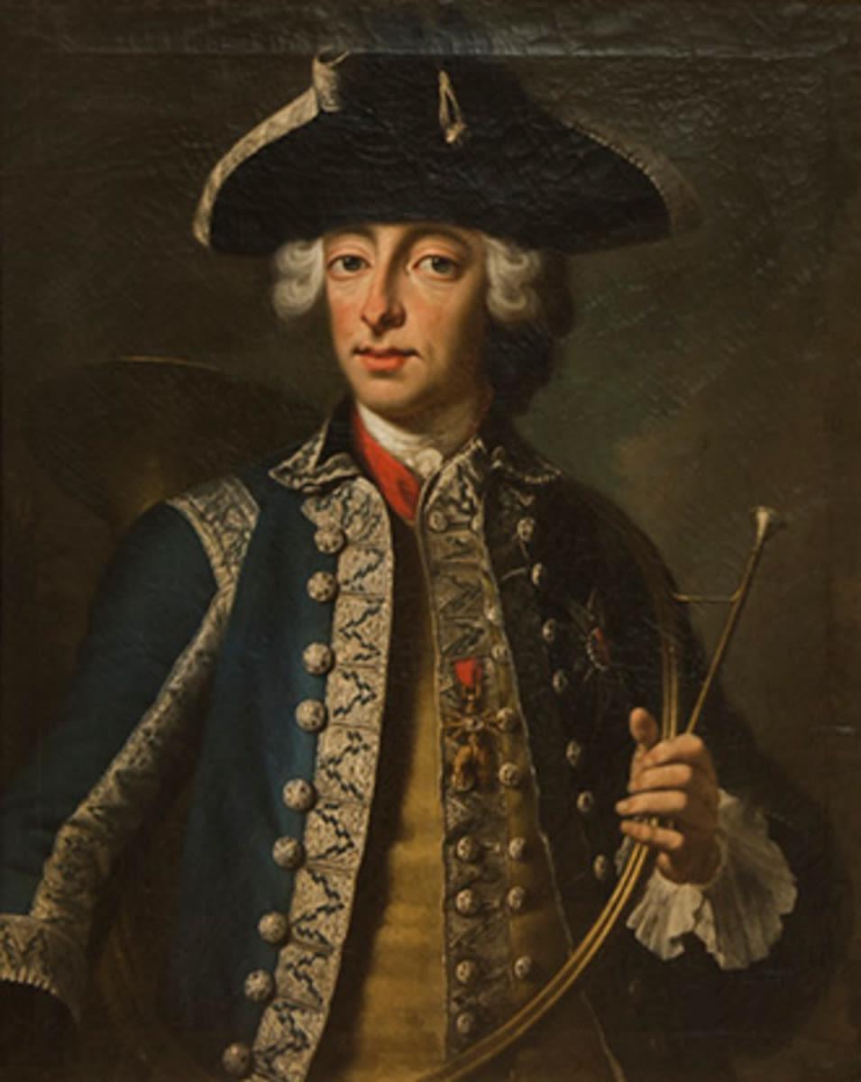 Kurfürst Max III. Joseph von Bayern im Jagdkostüm