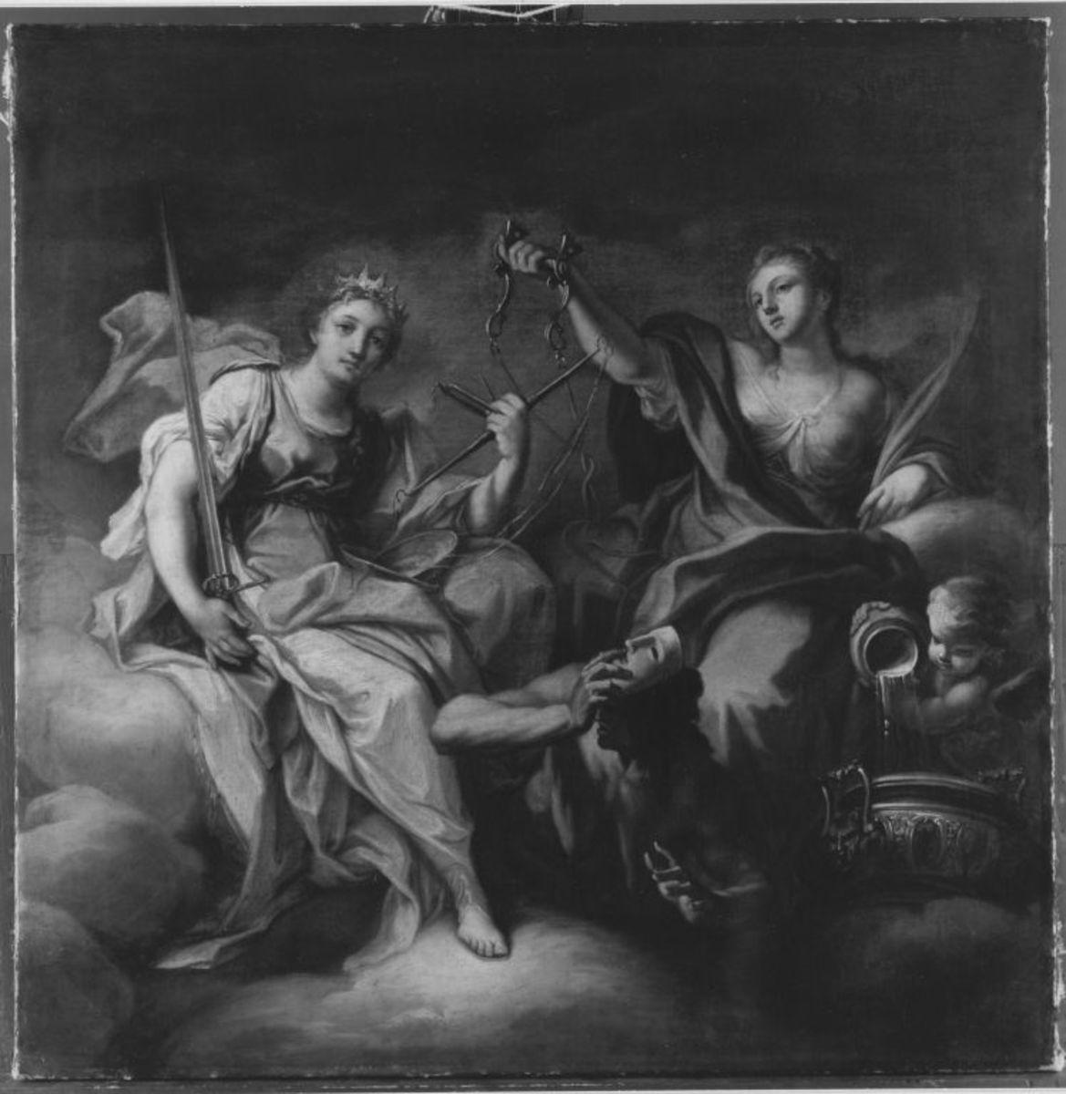 Justitia und Temperentia