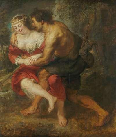 Schäferszene (Silvia und Coridon)