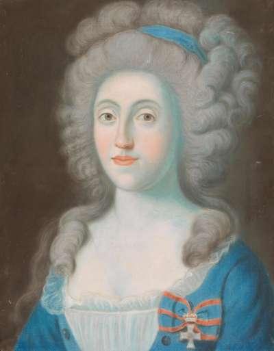 Maria Amalia, Gemahlin des Pfalzgrafen Carl August von Birkenfeld-Zweibrücken