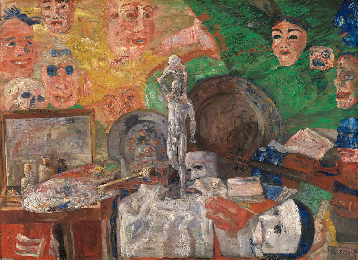 Stillleben im Atelier