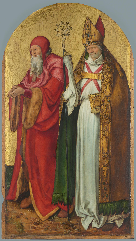 Jabach-Altar: Hll. Simeon und Lazarus