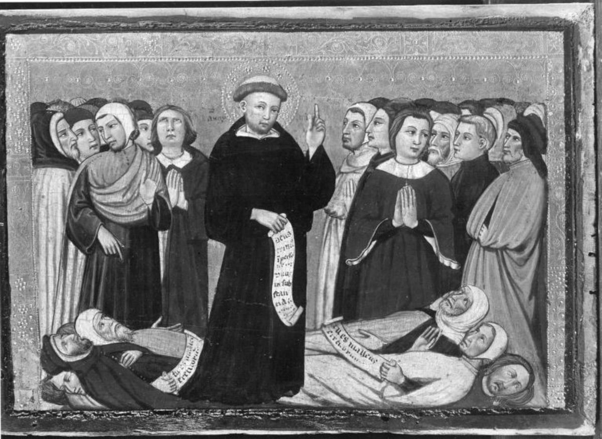 Augustinus bekämpft die Ketzer